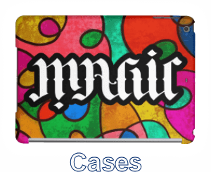 Ambigram iPad and Phone Cases